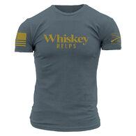 Grunt Style Men's Whiskey Helps Short-Sleeve Tee