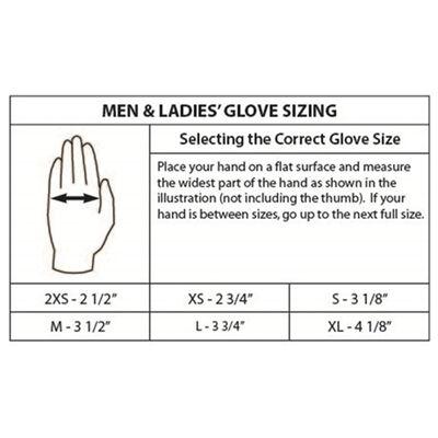 Gladiator Pro Skins 3/4-Finger Waterski Glove - Black/Red - S