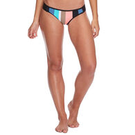 Body Glove Women's Stripe It Up Surf Rider Swim Bottom