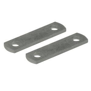 "Galvanized 5"" Frame Straps, pair"