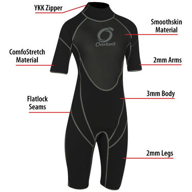 Junior Overton's Pro Spring Shorty Wetsuit