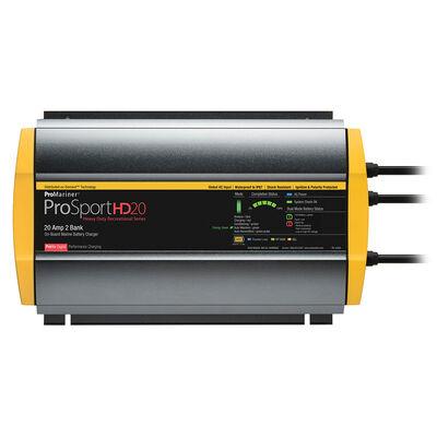 ProMariner ProSportHD 20 Gen 4 - 20 Amp - 2 Bank Battery Charger