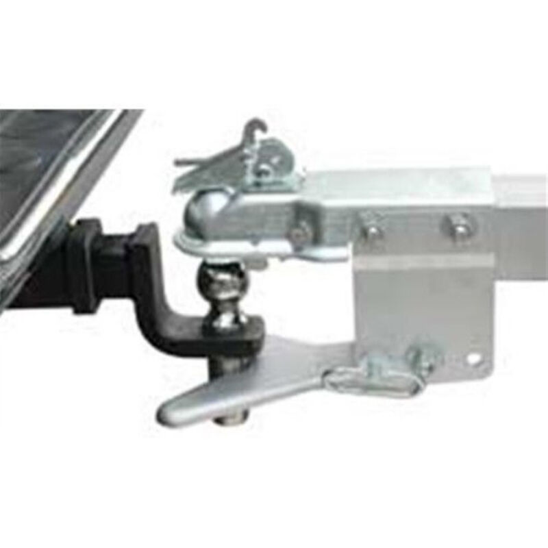 """Tie-Down 3"""" x 4"""" Ball Coupler And Hitch image number 1"""