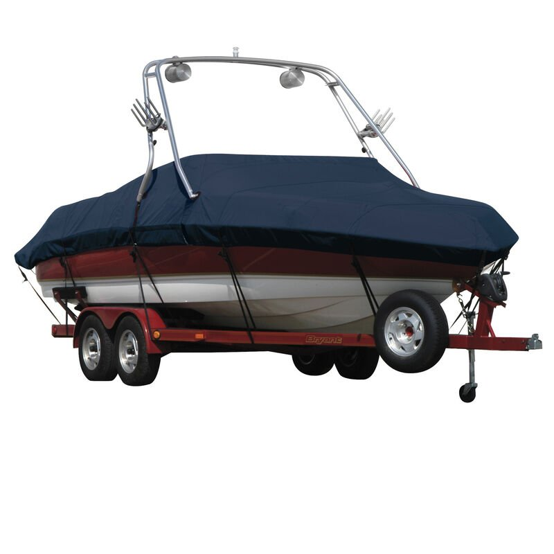 Exact Fit Sunbrella Boat Cover For Mastercraft X-10 Covers Swim Platform image number 1