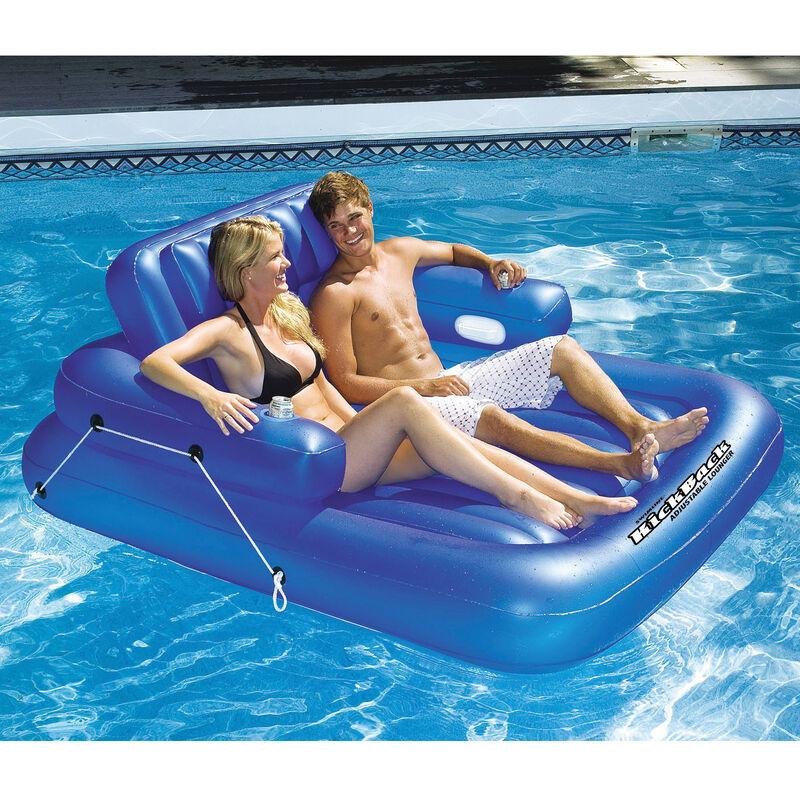 Swimline KickBack Double Adjustable Lounger image number 1