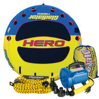 Gladiator Hero 4-Person Towable Tube Package