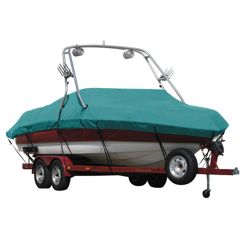Exact Fit Sunbrella Boat Cover For Cobalt 200 Bowrider With Tower Covers Extended Platform image number 4