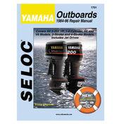 Seloc Marine Outboard Repair Manual for Yamaha '84 - '96