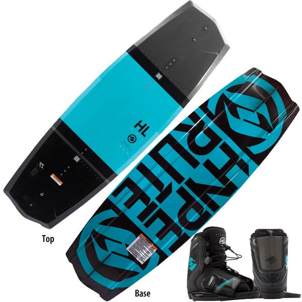 Hyperlite State 2.0 125 Wakeboard With Remix Bindings