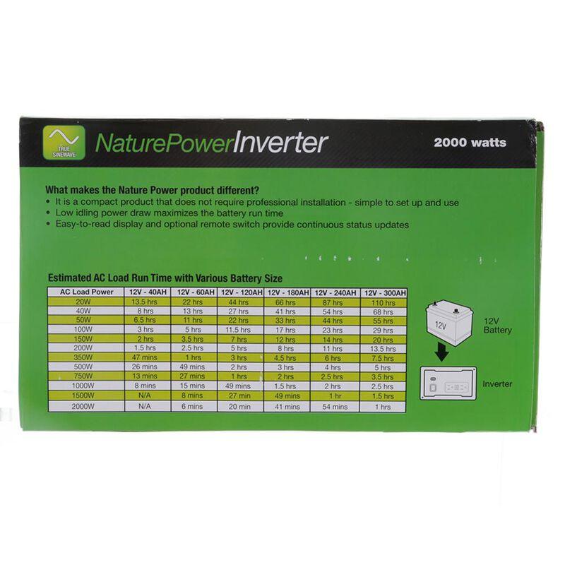 Nature Power 2000W Sine Wave Inverter image number 3