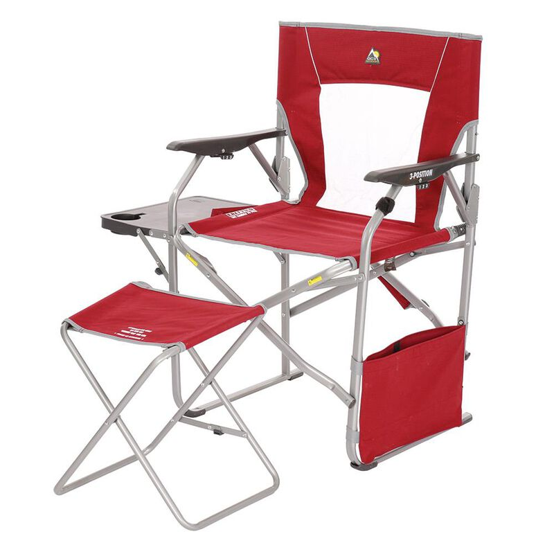 GCI Outdoor Folding Director's Chair With Ottoman image number 3