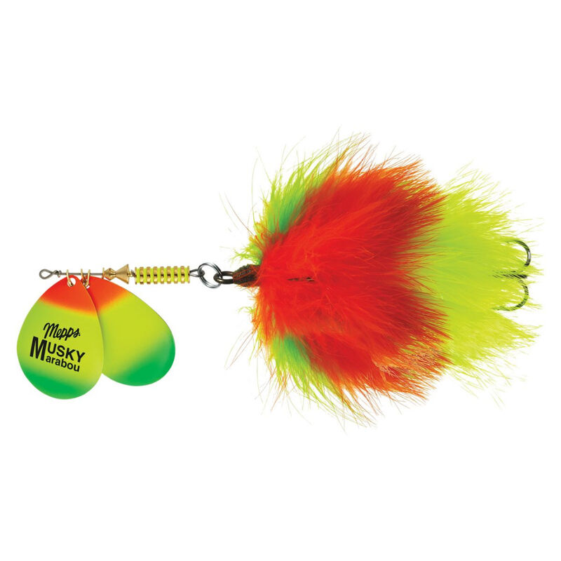 Mepps Double Blade Musky Marabou Lure, 1.5 oz. image number 2