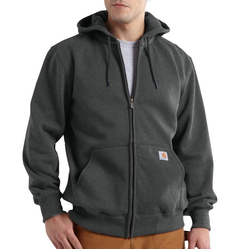 Carhartt Men's Rain Defender Paxton Heavyweight Hooded Zip-Front Sweatshirt image number 4