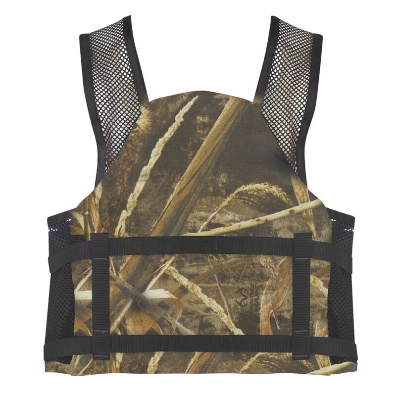 Forge Fishing V-Flow Air Mesh Vest, Max-5 Camo image number 3