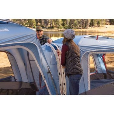Coleman Fast Pitch 3-Person Connectable Tent, Ozark Blue