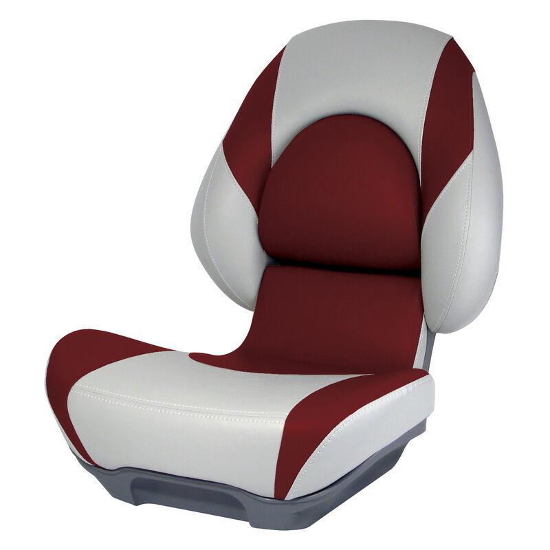 Attwood SAS Centric II Folding Boat Seat, Gray Base image number 3