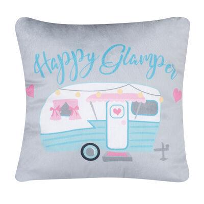 Happy Glamper Pillow