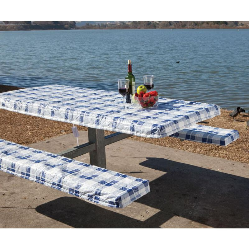 Deluxe Picnic Tablecloth & Seat Covers image number 1