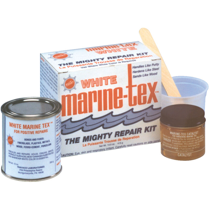 Marine-Tex 2-oz. Repair Kit, Gray image number 1