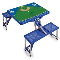 LA Dodgers Portable Picnic Table