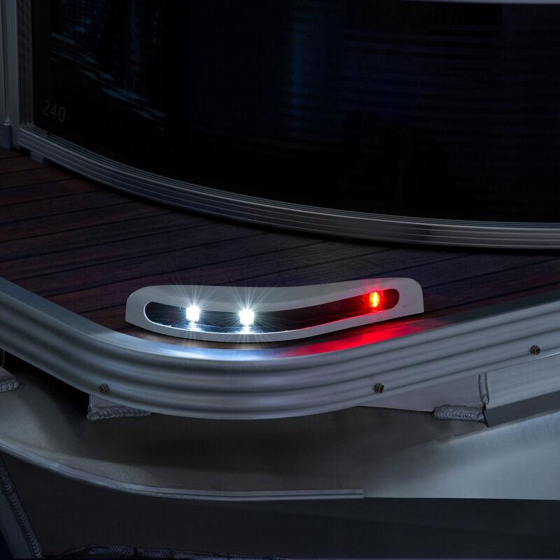 Toonmate Pontoon LED Docking Light Module Set, White Finish image number 5
