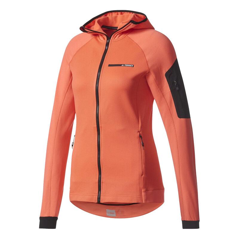 Adidas Women's Terrex Stockhorn Fleece Full-Zip Hoodie image number 10