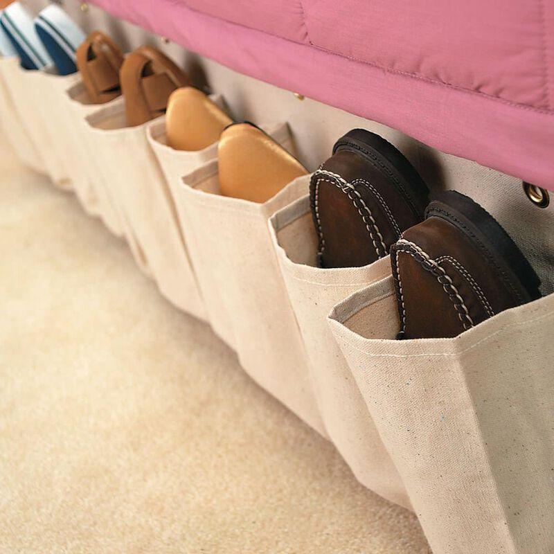 Canvas Shoe Pockets image number 2