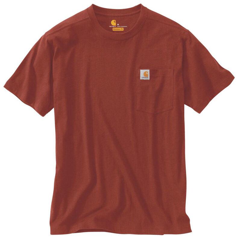Carhartt Men's Maddock Pocket Short-Sleeved T-Shirt image number 9