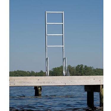 International Dock Flip-Up Dock Ladder, 3-Step