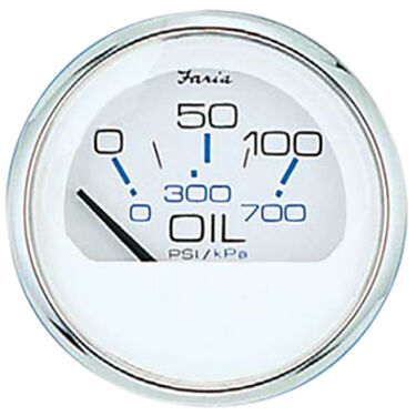 Faria Chesapeake SS Instruments - Oil Pressure Gauge (0-80 psi)