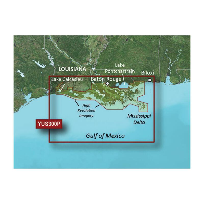 Garmin BlueChart g2 HD Cartography, Louisiana Bayou image number 1