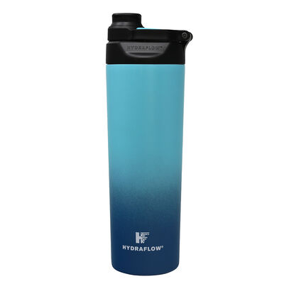 Hydraflow Cadet 25-oz. Bottle w/Easy Twist Cap, Ombre Blue/Teal