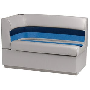 Toonmate Deluxe Pontoon Right-Side Corner Couch - TOP ONLY - Gray/Navy/Blue