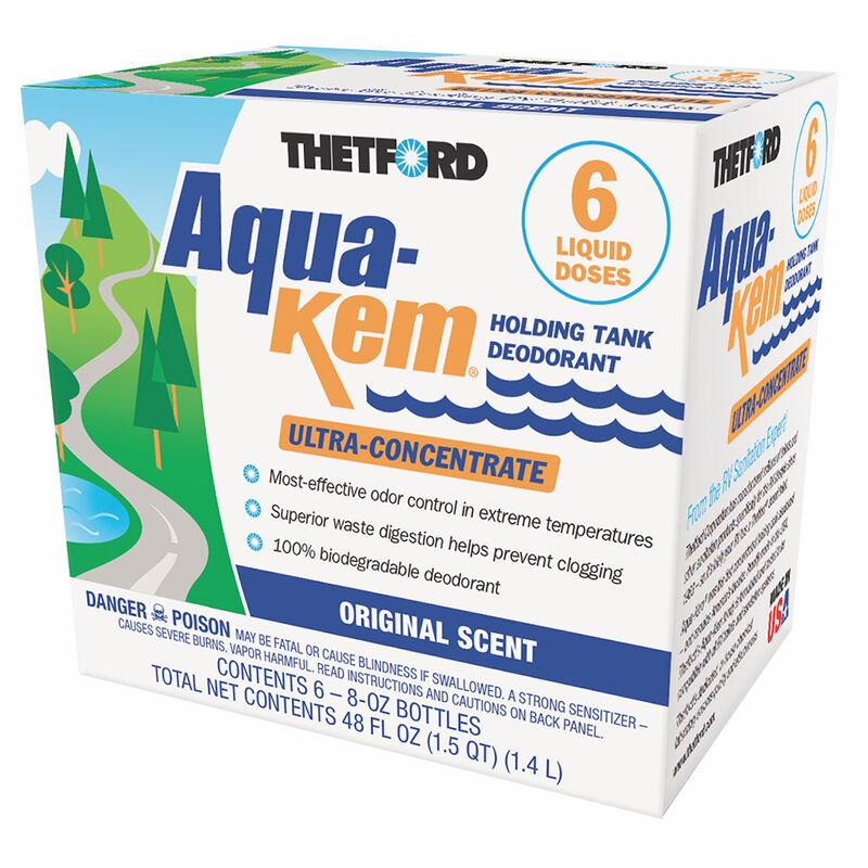 Aqua-Kem Deodorant - Six 8 oz. bottles image number 1