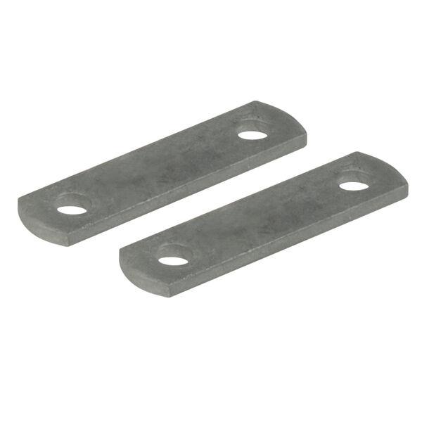 "Galvanized 4"" Frame Straps, pair"