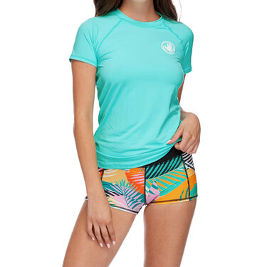 Body Glove Women's Smoothies In Motion Short-Sleeve Rash Guard