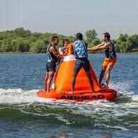AIRHEAD Big Orange Cone 4-Person Towable Tube