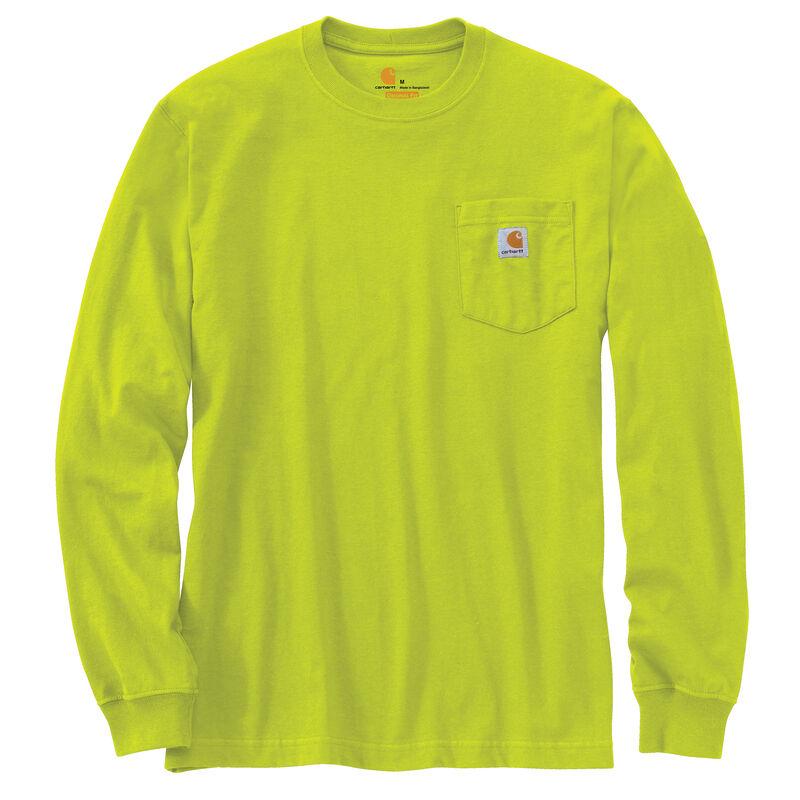 Carhartt Men's Workwear Long-Sleeve Pocket Tee image number 21