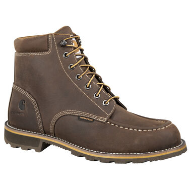 "Carhartt Men's 6"" Brown Waterproof Work Boot"
