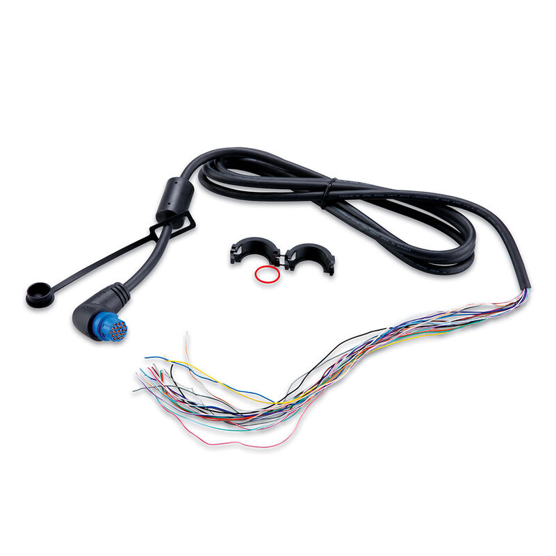 Garmin NMEA 0183 Threaded Cable With Right Angle Connector image number 1