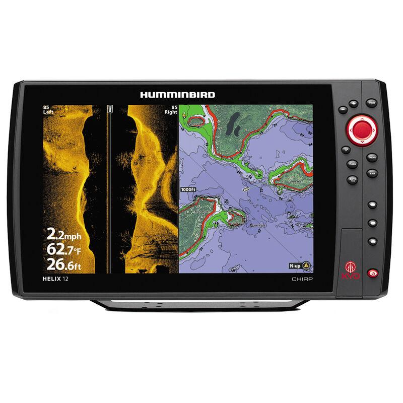 Humminbird Helix 12 CHIRP SI Fishfinder/GPS KVD Signature Combo image number 1