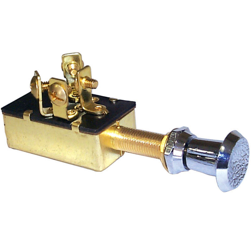 Sierra SPST On/Off Push/Pull Switch, Sierra Part #MP39610 image number 1