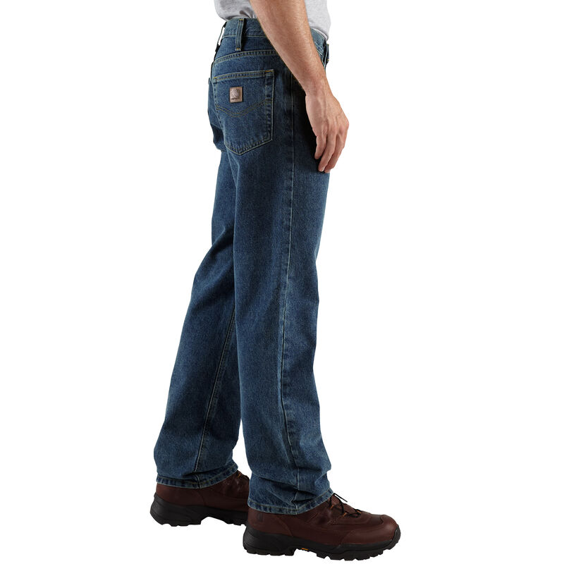 Carhartt Men's Relaxed-Fit Straight-Leg Jean image number 3
