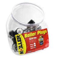 """Moeller 1"""" Stainless Steel Turn-Tite Bailer Plugs, 20-Pack (Display)"""