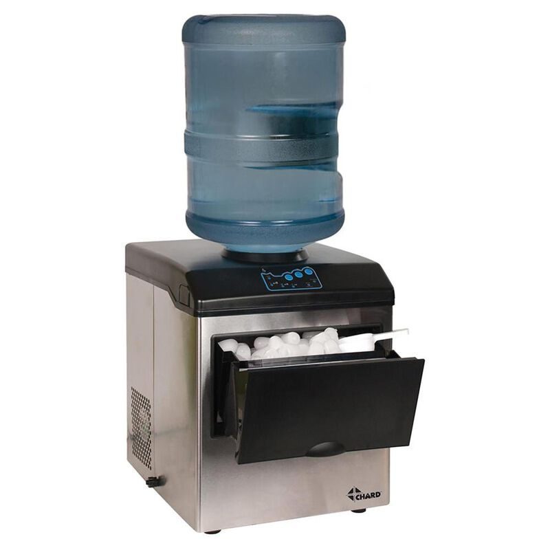 Stainless Steel Ice Maker and Water Dispenser image number 1