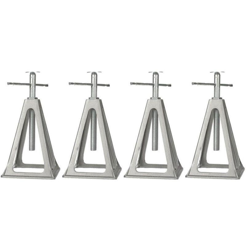 Aluminum Stack Jacks, Set of 4 image number 1