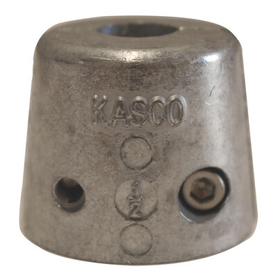 Replacement Zinc Anode for Kasco 1/2 and 3/4 HP Marine De-Icers