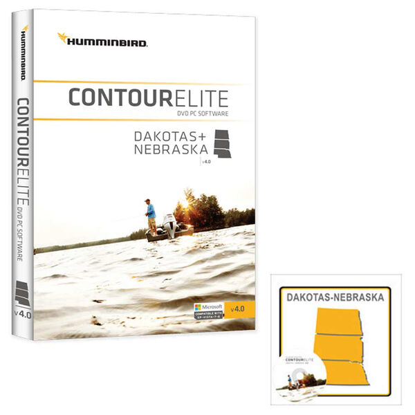 Humminbird Contour Elite Software, Dakotas/Nebraska