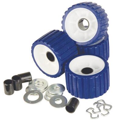 TPR Ribbed Roller Kit, blue