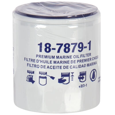 Sierra Oil Filter For Mercury Marine Engine, Sierra Part #18-7879-1